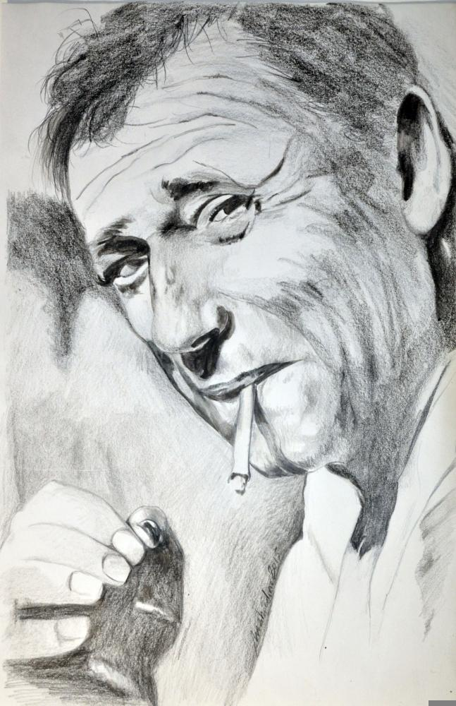 Yves Montand par Colorfarma